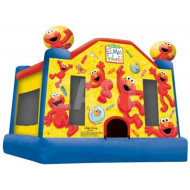 Elmo Jumping Castle