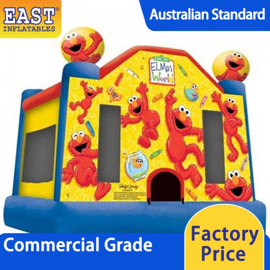 Elmo Jumping Castle