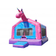 Unicorn Jumping Castle