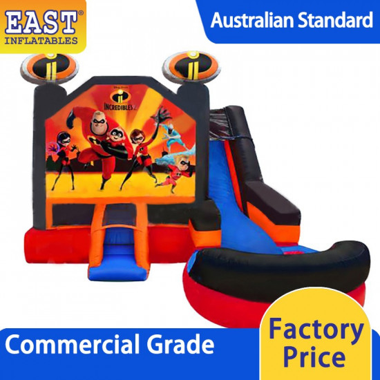 Inflatable Bouncers With Slide
