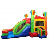 Girl Jumping Castle