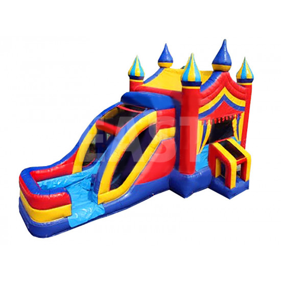 Jumping Castle With Waterslide