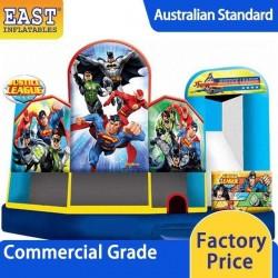 Justice League Jumping Castle Combo