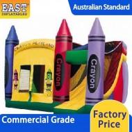 Inflatable Crayon Playland Combo