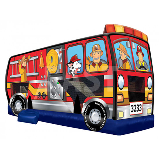 Fire Truck Jumping Castle