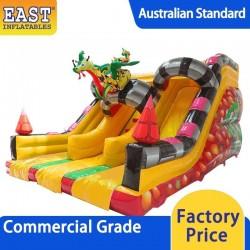Inflatable Dragon Double Slide