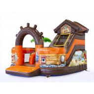 Pirate Funcity Inflatable Slide