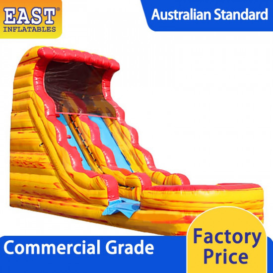 Fire And Ice Inflatable Water Slide
