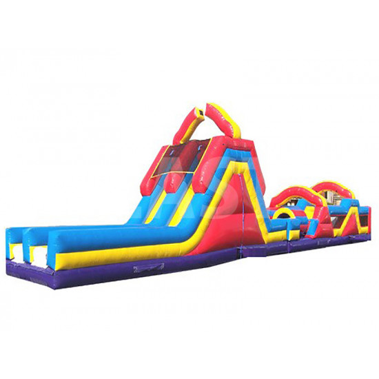 70ft Inflatable Obstacle Course