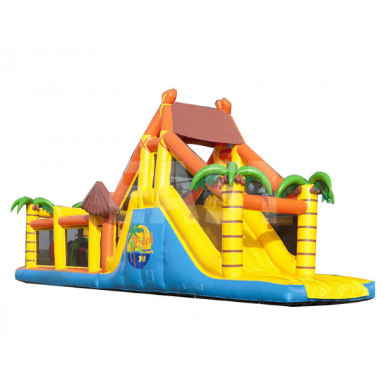Beach Inflatable Obstacle Course