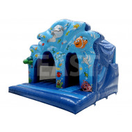 Commercial Bouncy Castle With Slide