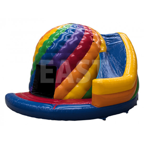 Disco Bouncy Castle With Slide