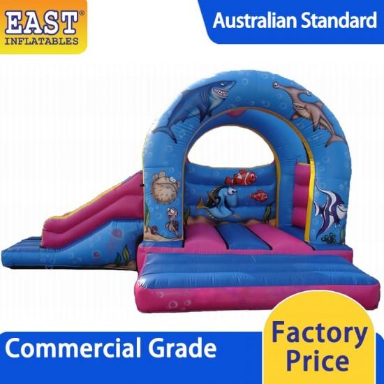 Sea Inflatable Bouncy Slide
