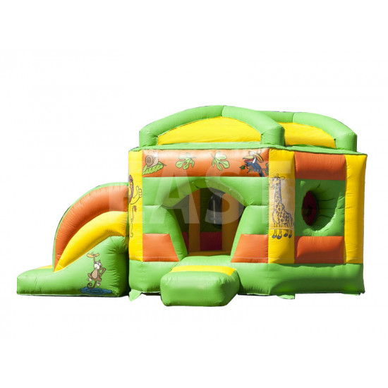 Pentagon Jungle Bouncy Castle