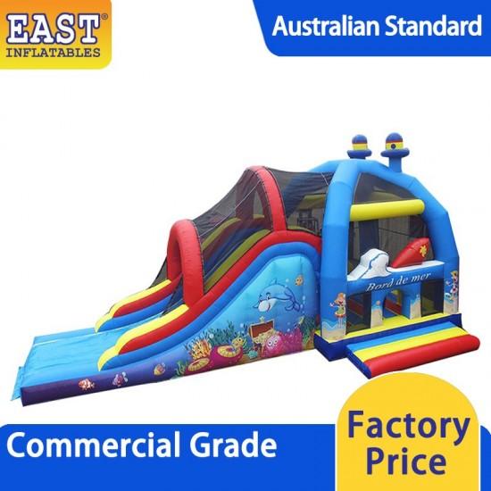 Sea Bouncy Castle With Slide