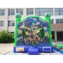 Ninja Turtle Jumping Castle