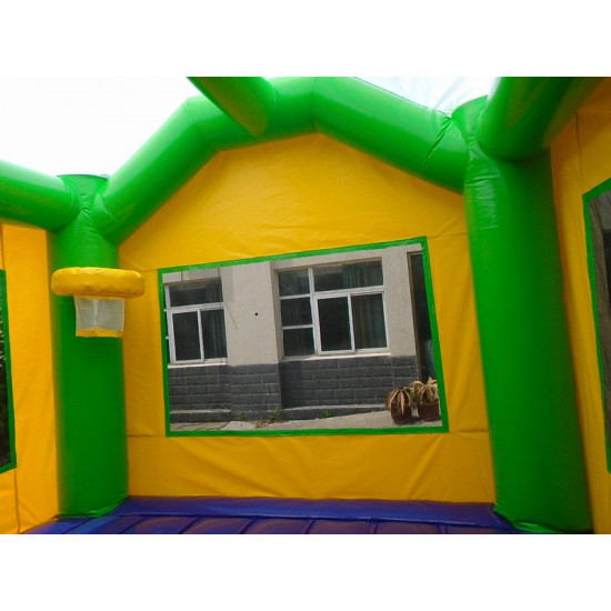 Ninja Turtle Jumping Castle