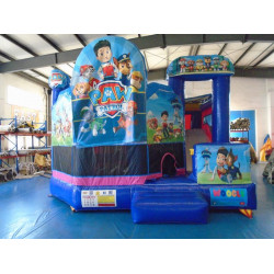 Paw Patrol Jumping Castle With Slide