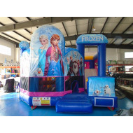Inflatable Frozen 5 In 1 Combo