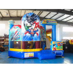 Justice League Jumping Castle Combo