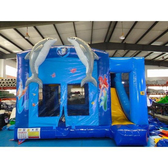 Dolphin Combo Jumping Castle