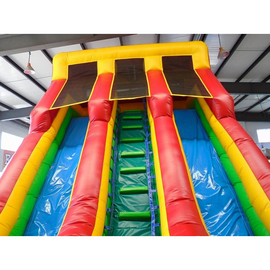 Inflatable Dry Slide